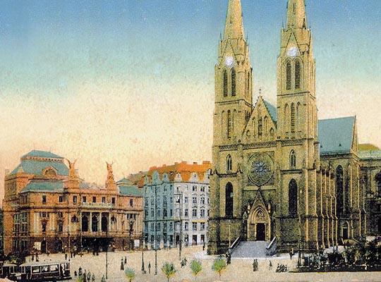 Площадь Мира - район Винограды, Прага