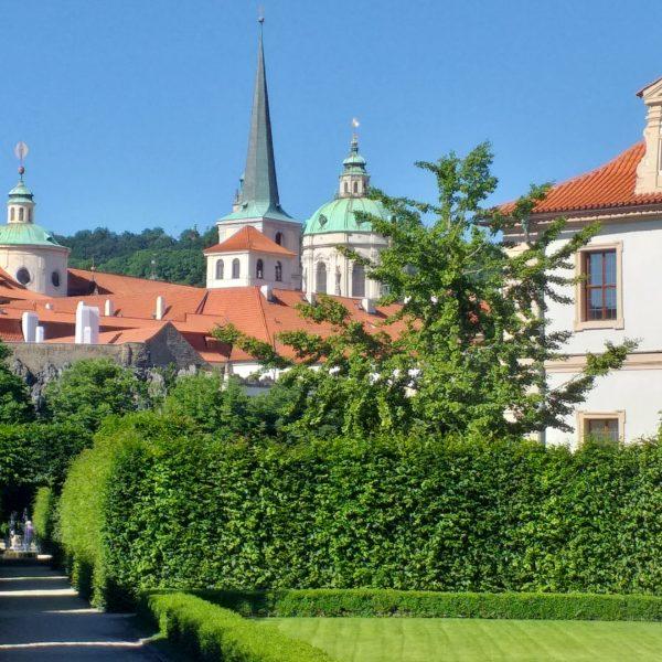 Вальдштейнские сады - Прага