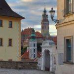 Вид на замок Чешский Крумлов - экскурсии AndyGo