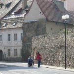 Крепостные стены в Хебе