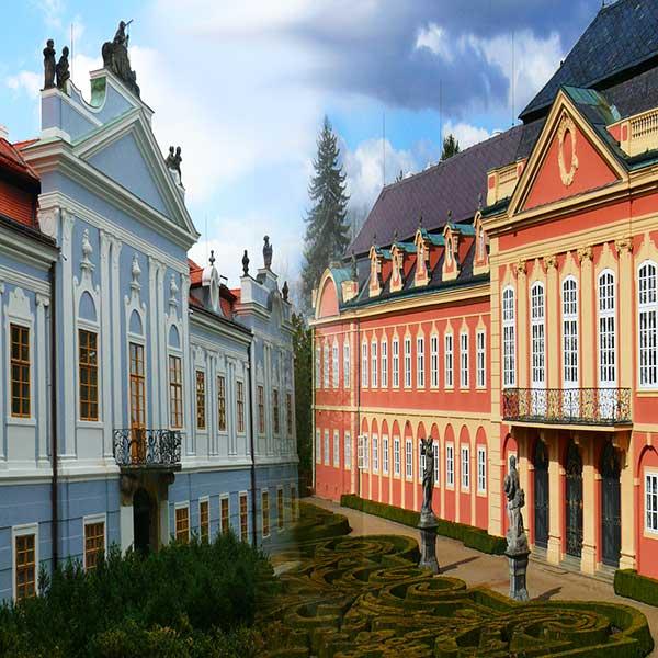 Замок Перуц и замок Добржишь - экскурсии AndyGo