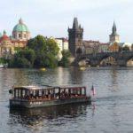 Вид на Старый город от р-на Мала Страна, Прага