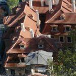 Крыши Малого Фюрстенбергского дворца