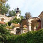 Барочные лестницы Южных садов Пражского Града