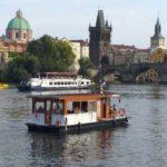 Вид на Старый город Праги