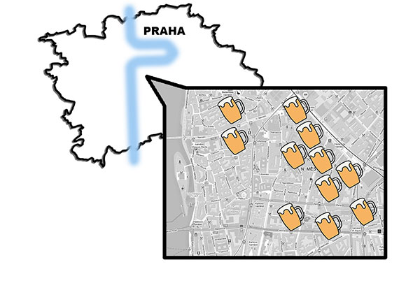 Пивная пешеходная экскурсия по Праге