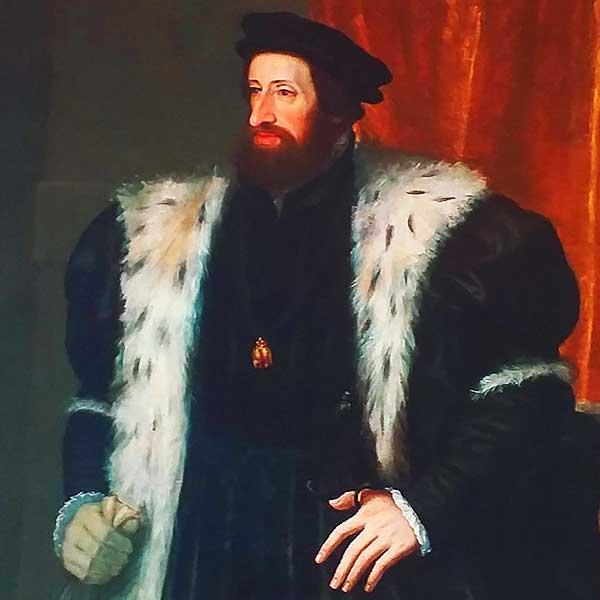 Фердинанд I. - отец Фердинанда II. Тирольского, мужа Филиппины
