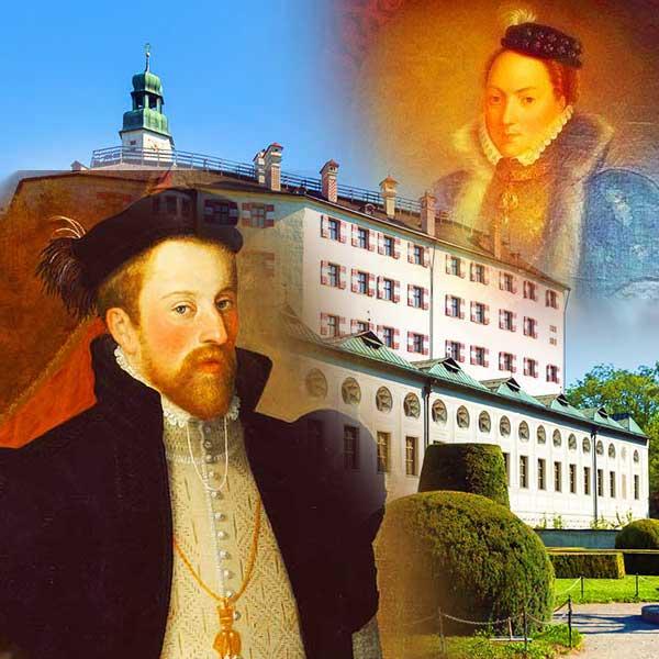 Эрцгерцог Фердинанд II. Тирольский и Филиппина Велзеррцгерцог Фердинанд II. Тирольский и Филиппина Велзер