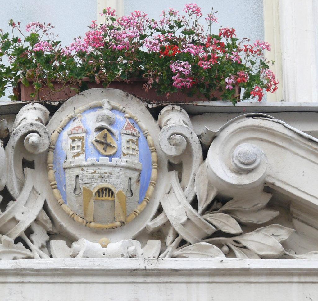 Герб города Уштек, Чехия