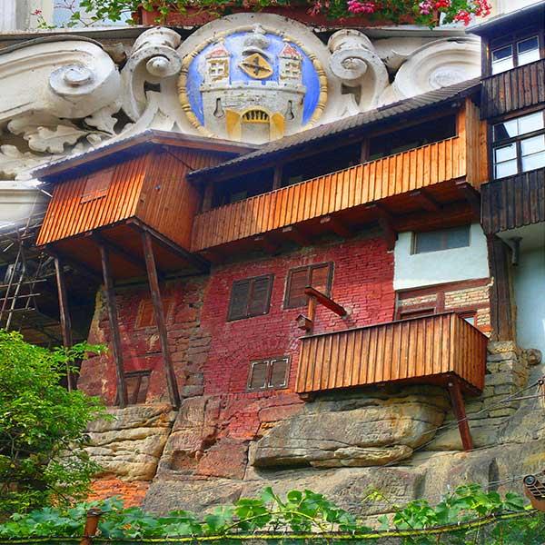 Уштек: Птичьи домики - экскурсии AndyGo по Чехии