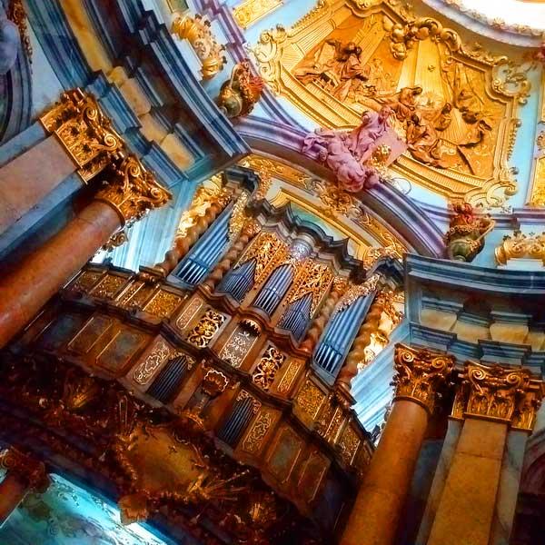 Орган в монастыре Вельтенбург - экскурсия AndyGo