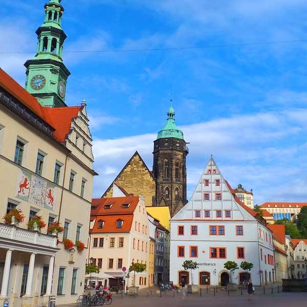 Город Пирна, Саксония - экскурсия AndyGo